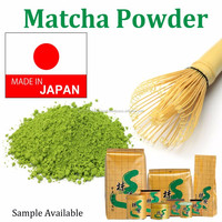Healthy sample instant matcha green tea powder , sample available