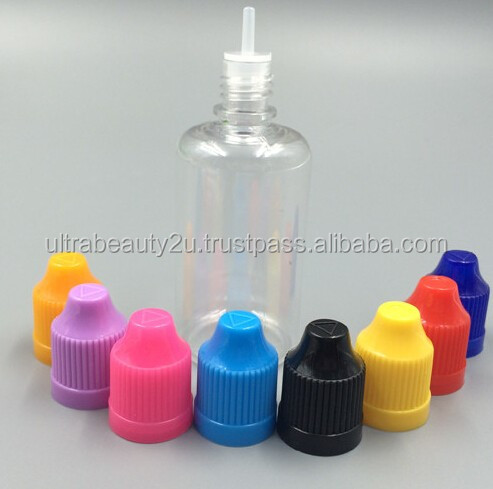 E-liquid PET bottle