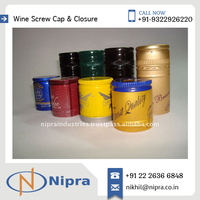 Hot sale on Printed PVC Shrink Caps to give Professional Look to Wine Bottle