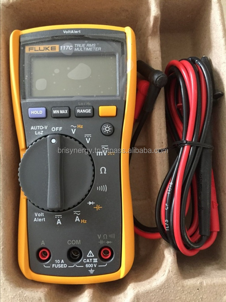 Fluke Digital Multimeter 117C Fluke thermometers Measurement