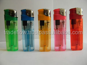 8.2cm Electronic Plastic Cigarette Refill Gas Lighter