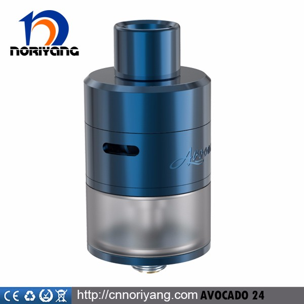 high quality 5ml huge capacity atomizer Avocado 24 RDTA ecig tank