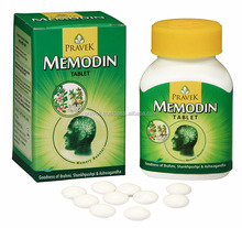 MEMODIN TABLETS excellent remedy for stress related symptoms in adult and children like anxiety, depression, lack of concentrati
