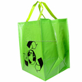 Opp laminated Pp woven shopping bag for promotion
