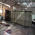 Leading factory directly producing bamboo door curtain in Vietnam
