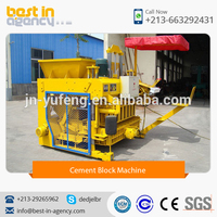 New Design DMYF-6A Paver Cement Block Machine at Low Price