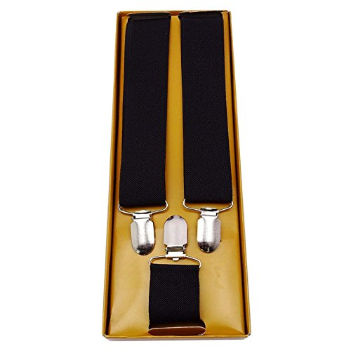 Adjustable Clip-on Suspenders Braces Fashion Unisex Accessories MA244C