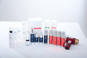 Anti-aging and High-performance SAFETIER Cosmetics for skin care, airless cosmetic packaging