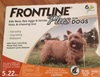 Frontline Plus Flea & Tick Treatment for Small Dogs & Puppies ( 22 lbs)