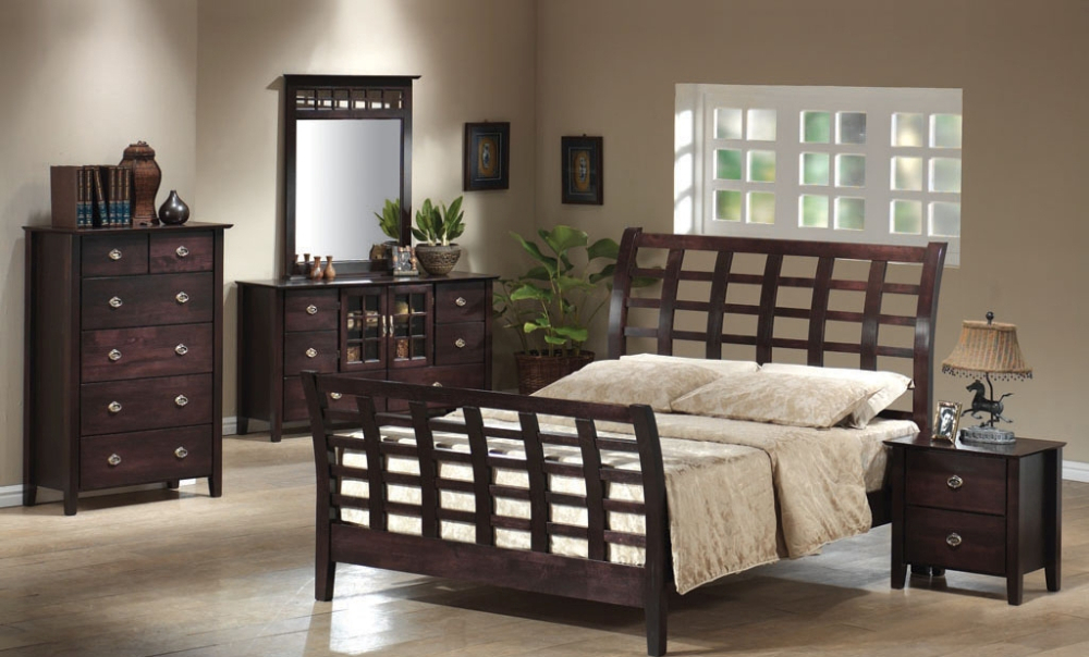 CGI 9016 Wooden Bedroom set, Modern bedroom furniture set, Classic bedroom furniture set