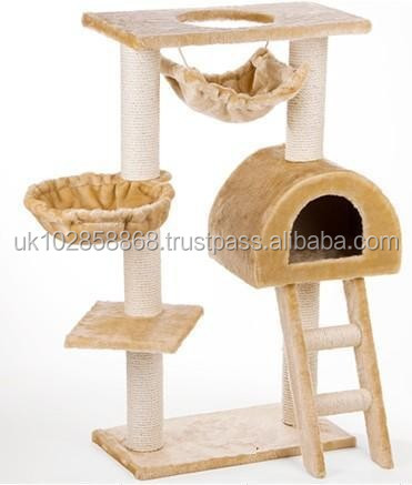 Indoor Large Cat tree,cat house,indoor pet bed hot selling!