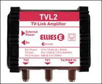 2-Way Indoor TV-Link Distribution Amplifier BPTVL2