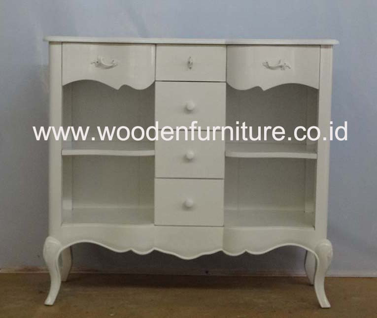 French Style Sideboard Antique Display Cabinet