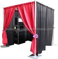 Portable shopping mall photo booth wtih drapery for sale