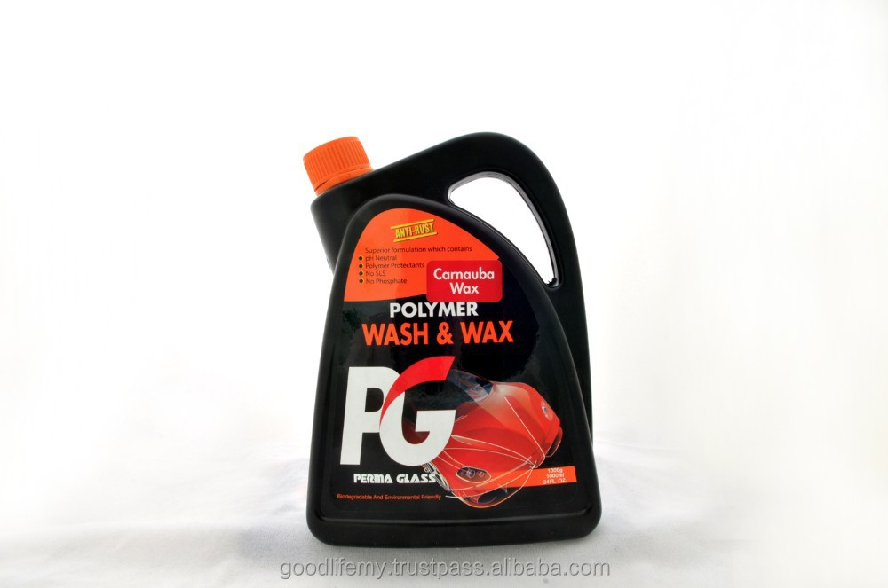 PG Polymer Wash & Wax (1000ml & 2000ml)