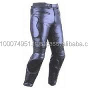 leather motor bike trouser