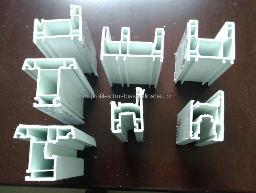 Plastic Profiles for UPVC window and door used from China Factory directly