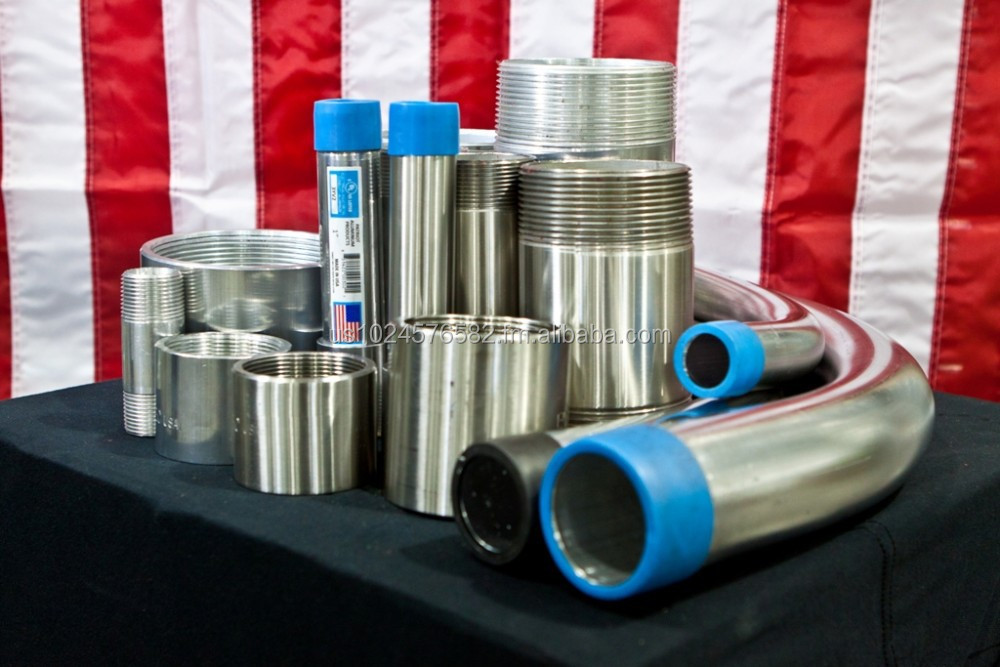 UL Listed Rigid Aluminum Electrical Conduit, Nipples, Elbows, and Couplings