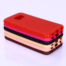 High quality Soft TPU grid design phone case for Samsung galaxy S6