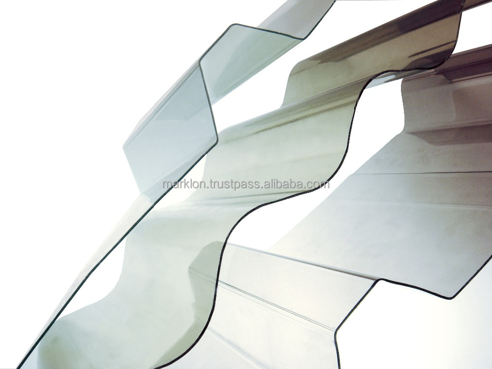 Marklon Polyglass Polycarbonate Corrugated Sheet