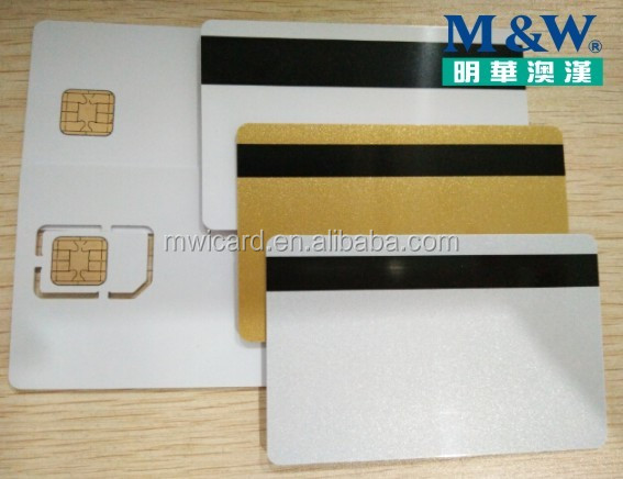 Jcop J2A040 JAVA Card with Magnetic Strip PVC High Quality Original Chip Card