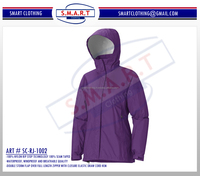 Women Oriented Stylish Rain Jacket, Transparent rain jacket