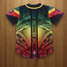 custom high quality full dye sublimation camo baseball softball jersey