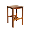 High quality best selling eco friendly Wooden Square Bar Table from Viet Nam