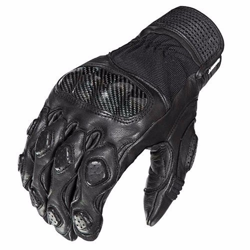 Men's Genuine Leather Motorcycle Gloves CARBON Protect Daines Motorbike Gloves Touch Screen Driving Racing