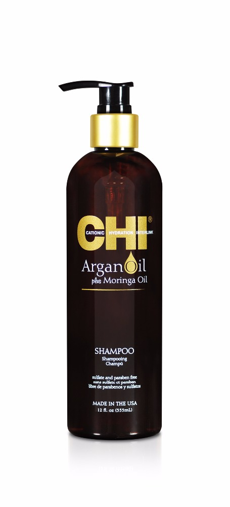 CHI Argan Oil Plus Moringa Oil ( Shampoo , Conditioner , Masque & Oil)