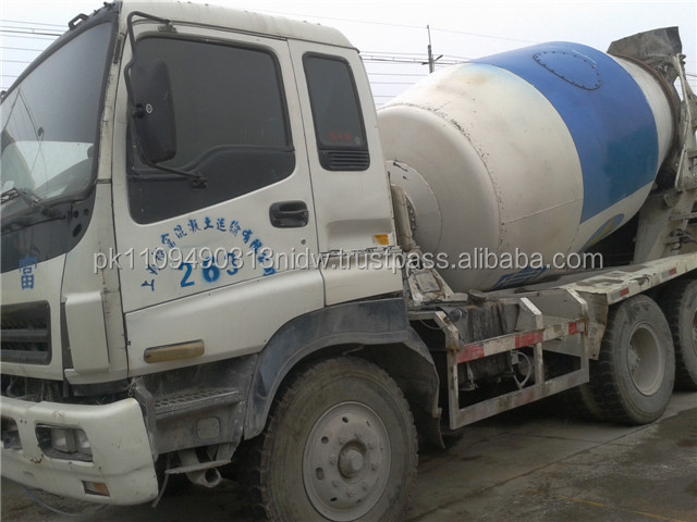 Used Concrete Mixer for sale, Used ISUZU Diesel Concrete Mixer Truck for sale