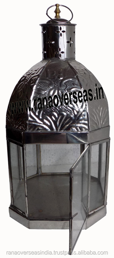 Stainless Steel Small Table Top Lanterns