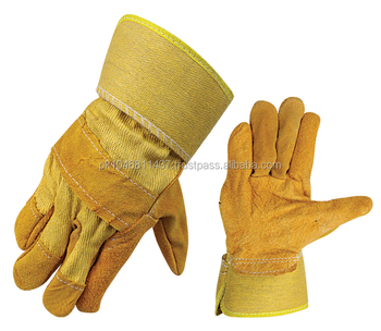 Cheap Leather Working Gloves 707