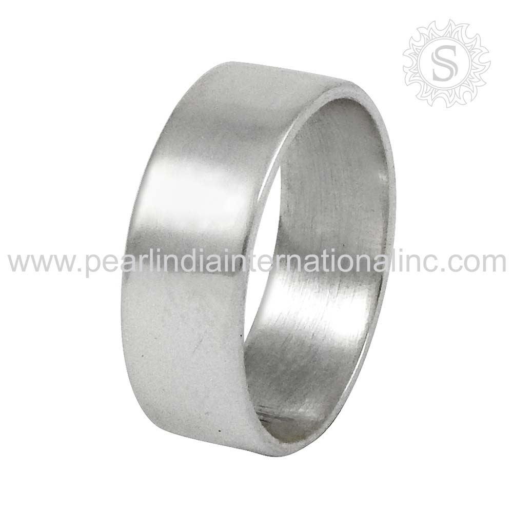 Simple Design Ring For Women 925 Sterling Silver Jewellery Indian Silver Jewelry Wholesaler