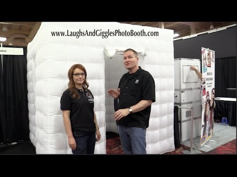 Laughs & Giggles Inflatable Photo Booth Enclosure and Inflatable Wall: By The Disc Jockey News