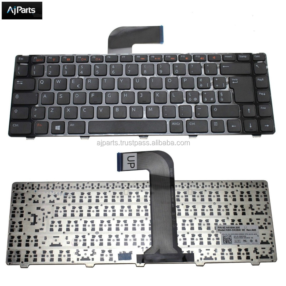 Factory price For Dell Studio XPS 15 L502X n5040 15-n5050 m5040 m5050 n4110 series laptop keyboard US UK SP RU PO layout