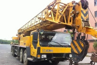 2009 70t on QY70K-III XCMG crane Second hand Mobile crane for sale QY100l