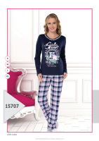 FASHIONABLE WOMAN PAJAMAS FOR WINTER