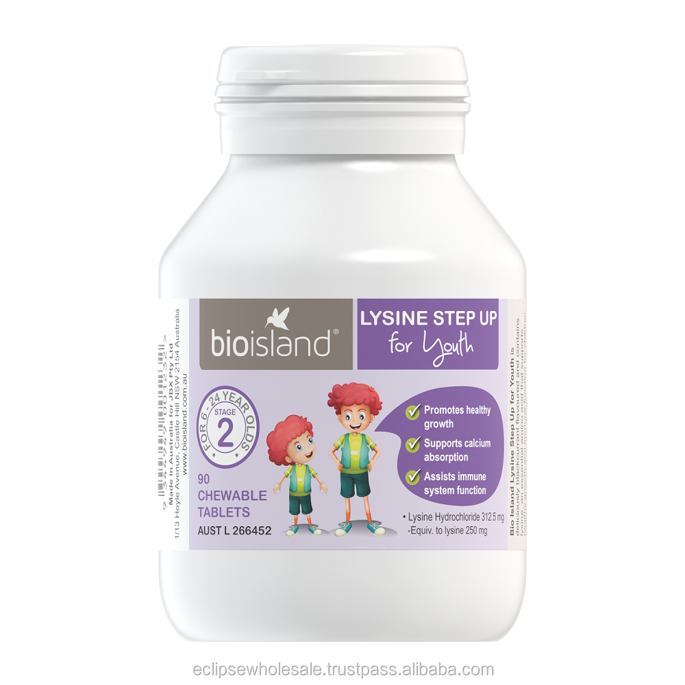Bio Island Lysine Step Up for Youth