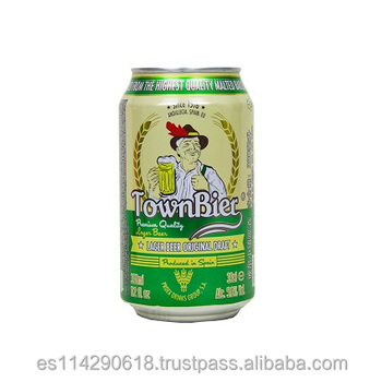 TownBier Lager Beer canned 5.0% vol. alc. 24x33cl