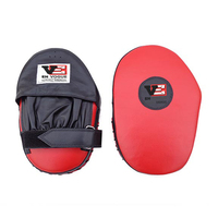 EN Vogue Red Straight MMA Focus Mitt / Punching Pad