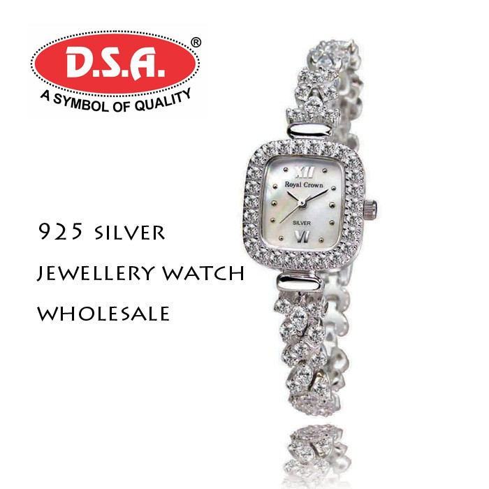 925 silver watch fancy ladies jewellery watch