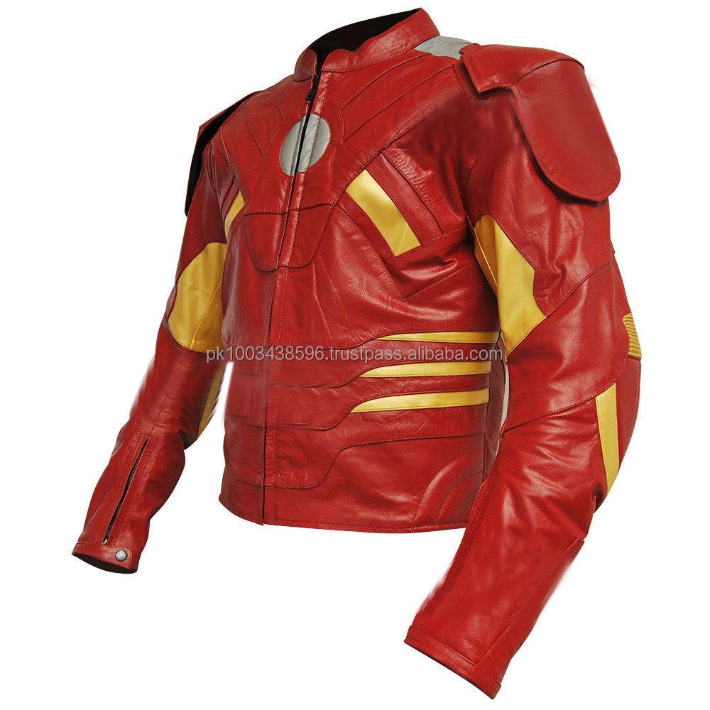Spiderman motorcycle jacket