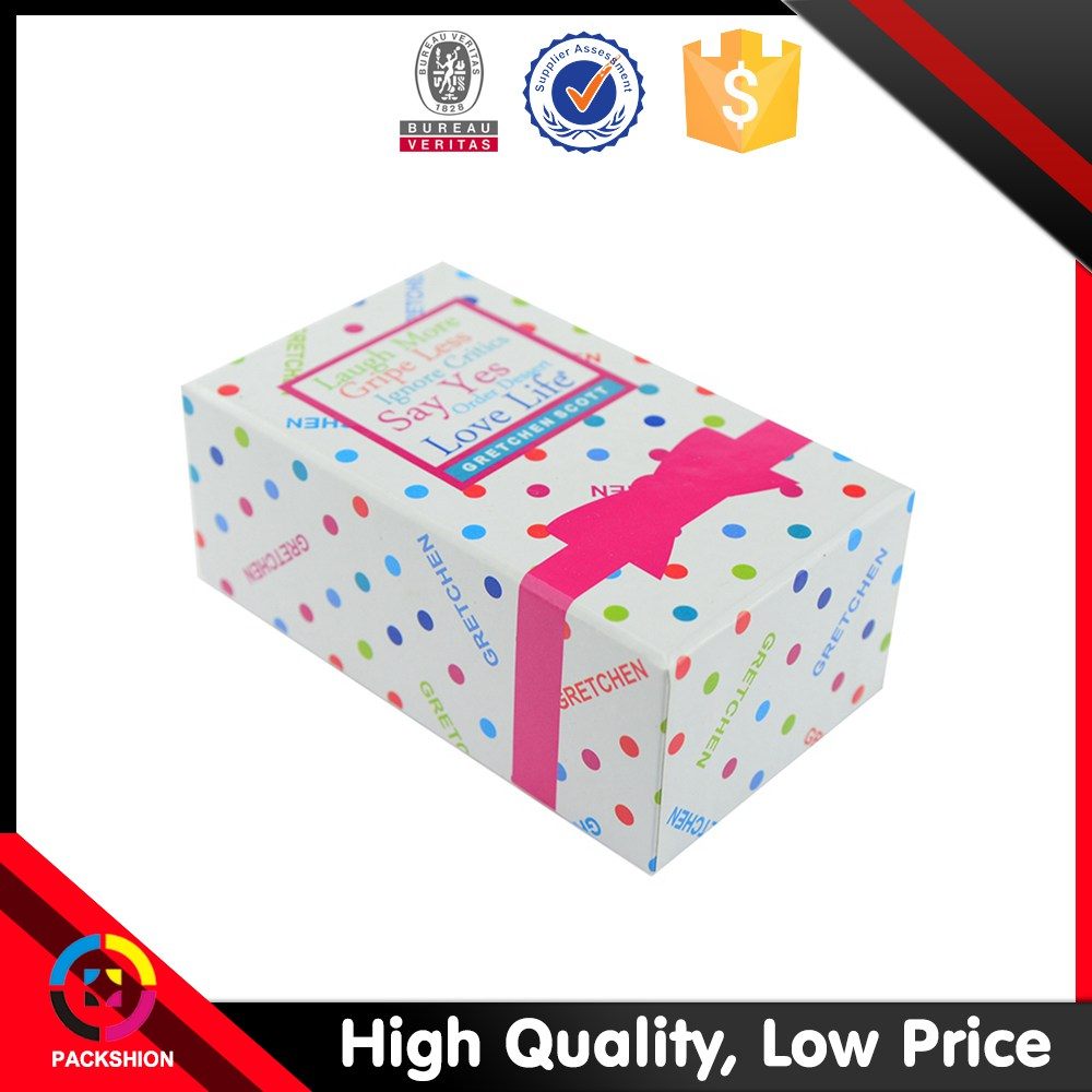 Lovely Printed Custom Design Paper Gift Box