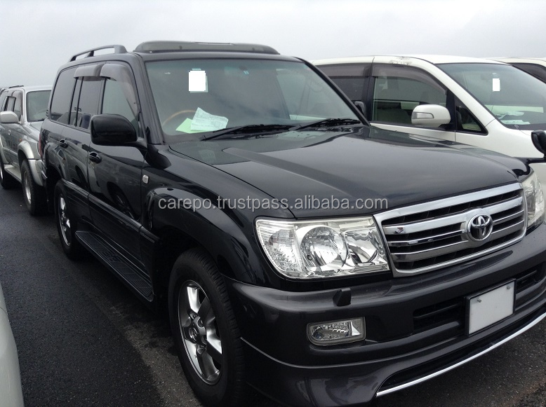 JAPANESE SECONDHAND AUTOMOBILES FOR TOYOTA LAND CRUISER 100 5D4WD VX-LTD G-SELECTION KR-HDJ101K FOR SALE IN JAPAN