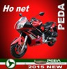 (Hot) 2016 NEW CVT motorcycle 125cc 180cc EEC DOT EPA Italian EXCLUSIVE deisgn (PEDA MOTOR)