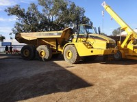USED 2006 CATERPILLAR 740 ARTICULATED OFF-HIGHWAY DUMP TRUCK