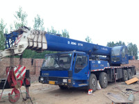used XCMG QY70k 70T truck crane 2010y new model in china
