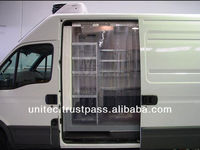 PLASTIC CURTAIN FOR REFRIGERATED VEHICLES