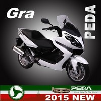 (GRA) 2016 NEW gas scooter 250cc EFI water cooling 15inch Italian design EXCLUSIVE (PEDA MOTOR)